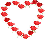 Rose Heart Royalty Free Stock Photo