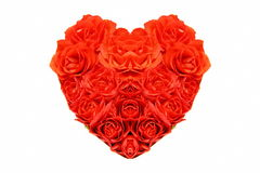 Rose heart Royalty Free Stock Images