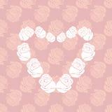 Rose Heart Lizenzfreie Stockfotos