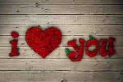 Rose Heart Fotos de Stock Royalty Free