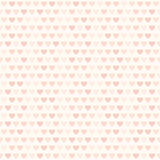 Rose heart pattern. Seamless vector love background Stock Photo