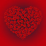 Rose Heart Royalty Free Stock Image