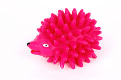 Rose hedgehog toy Royalty Free Stock Photo