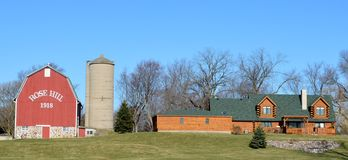 Rose Hill Farm Lizenzfreies Stockfoto
