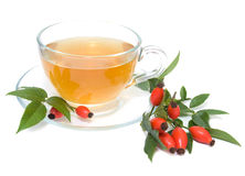 Rose hip tea Stock Image