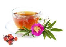 Rose hip tea Royalty Free Stock Images