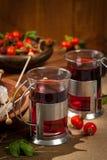 Rose Hips Herbal Tea photo stock
