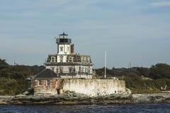 Rose Island con los pintores. Fotos de archivo libres de regalías
