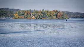 Rose island. An image of the Rose Island in autumn royalty free stock photography