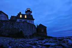Rose Island Lighthouse fotografia stock