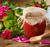 Rose jam Royalty Free Stock Photography
