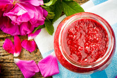 Rose jam Stock Image