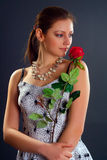 rose kobieta Zdjęcie Stock
