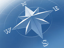 rose kompas. Fotografia Stock