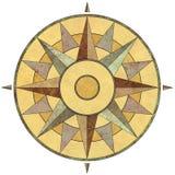 rose kompas. Zdjęcie Royalty Free