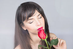 Rose lady Royalty Free Stock Images