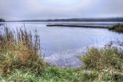 Rose Lake in Idaho. Royalty-vrije Stock Foto's