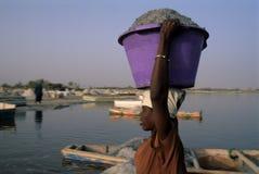 Rose Lake - Senegal Stock Photos