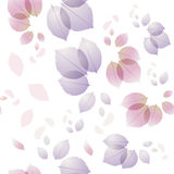 Rose leaves pattern background. Royalty Free Stock Images