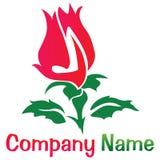 Rose logo Royalty Free Stock Photography
