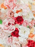 Rose made from paper royalty free stock photography