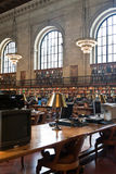 Rose main reading room in New York Public Library, NYC Stock Photography