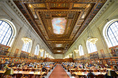 Rose Main Reading Room, New York Public Library Royalty Free Stock Photography