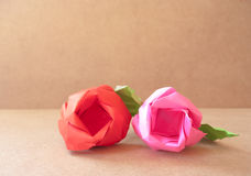 Rose make by paper Royalty Free Stock Photos