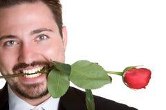 Rose Man Royalty Free Stock Image