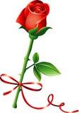 Rose mit Bogen stock abbildung