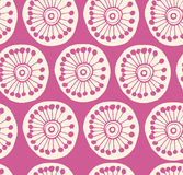 Rose modern seamless pattern. Fabric texture with decorative flowers Royalty Free Stock Image