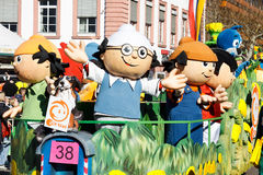 Rose Monday Parade (Rosenmontagszug) 2011 in Mainz Stock Photo