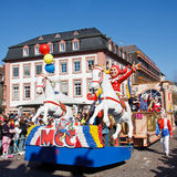 Rose Monday Parade (Rosenmontagszug) 2011 in Mainz Stock Photo