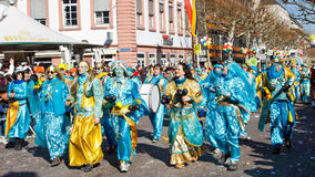 Rose Monday Parade (Rosenmontagszug) 2011 in Mainz Royalty Free Stock Image