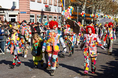 Rose Monday Parade (Rosenmontagszug) 2011 in Mainz Royalty Free Stock Photo