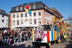 Rose Monday Parade (Rosenmontagszug) 2011 in Mainz Royalty Free Stock Images