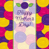 Rose Mother's Day card Royalty Free Stock Photos