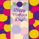 Rose Mothers Tageskarte Lizenzfreie Stockfotos