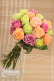 Rose multicolored bouquet Royalty Free Stock Photography