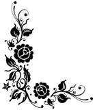Rose nere Illustrazione di Stock