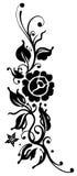 Rose nere Royalty Illustrazione gratis