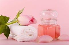 Rose Oil Lizenzfreie Stockbilder