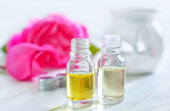 Rose oil stock photography