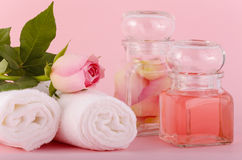 Rose oil Royalty Free Stock Image