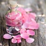 Rose olja Fotografering för Bildbyråer