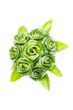 Rose Of Pandan Leaf. Stock Photography