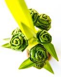Rose from pandanus Royalty Free Stock Image