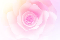 Rose paper with gradient Royalty Free Stock Image