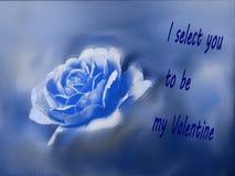 Rose para el día de San Valentín Foto de archivo libre de regalías