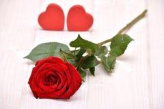Rose para las tarjetas del día de San Valentín Imagen de archivo